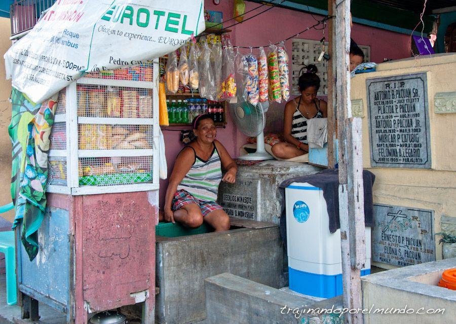 viaje a filipinas, vivir en el cementerio, manila