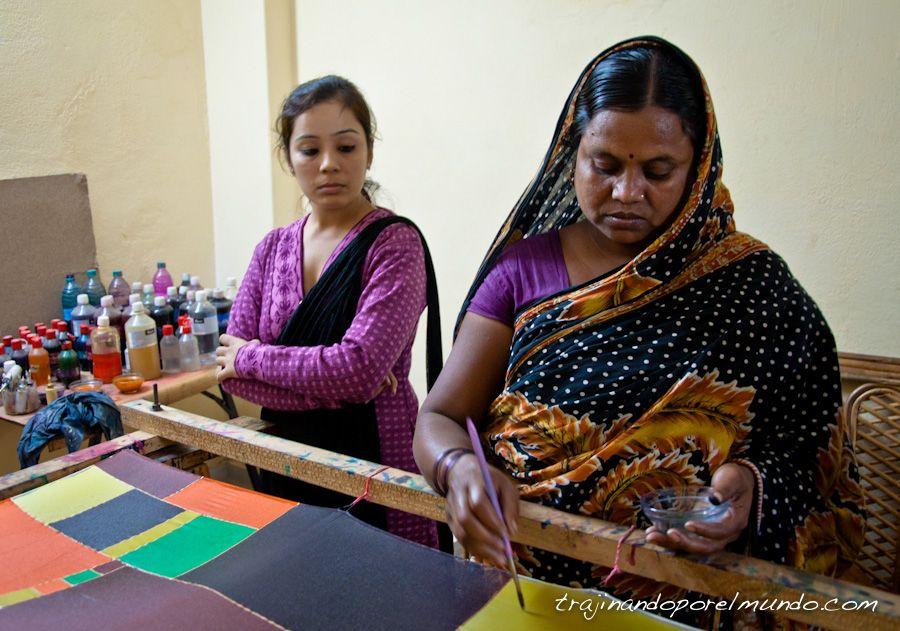 India, semilla, regalos solidarios, seda, panuelos