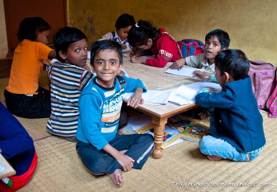 Varanasi, India, ONG, educacion, infantil