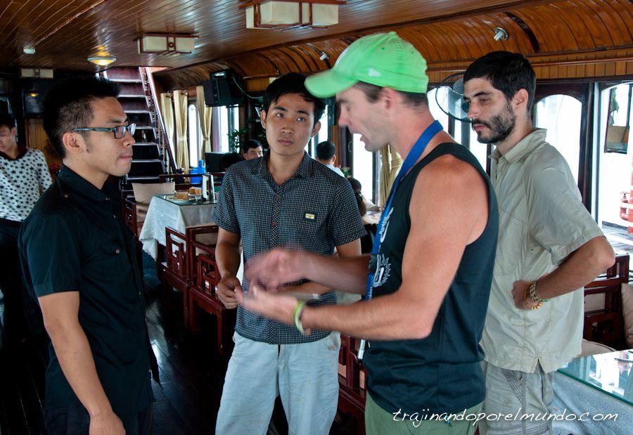 vietnam, seguridad, estafa, robos, halong, crucero