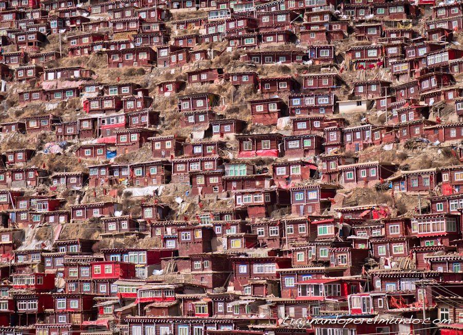 Larung gar, garze, que ver en sichuan, china