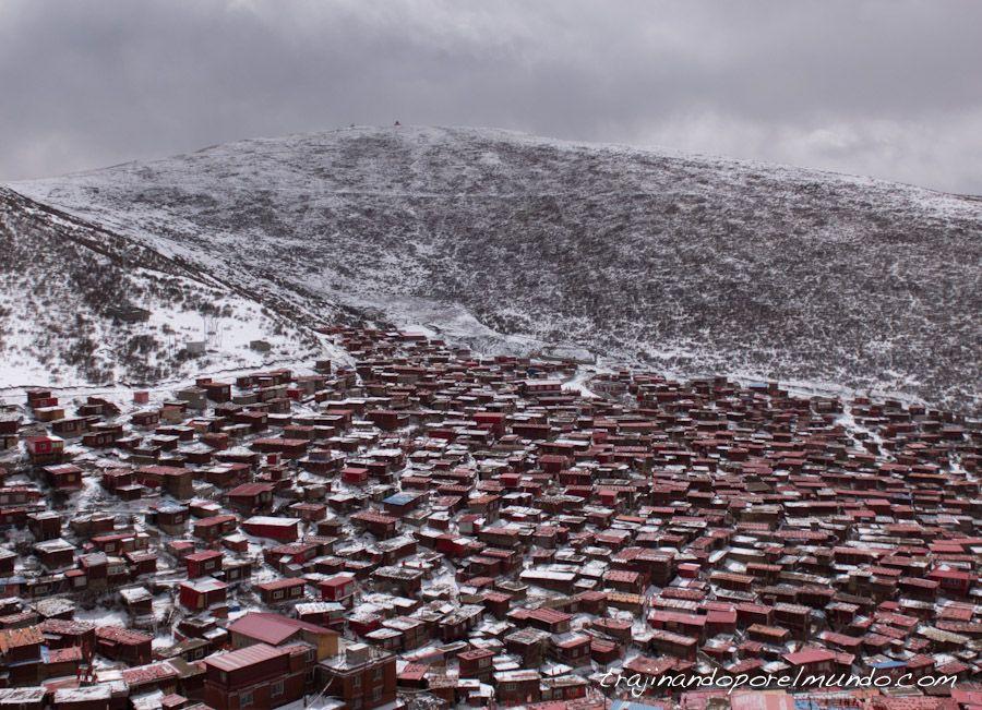 que ver en sichuan, china, montaña nevada, budismo