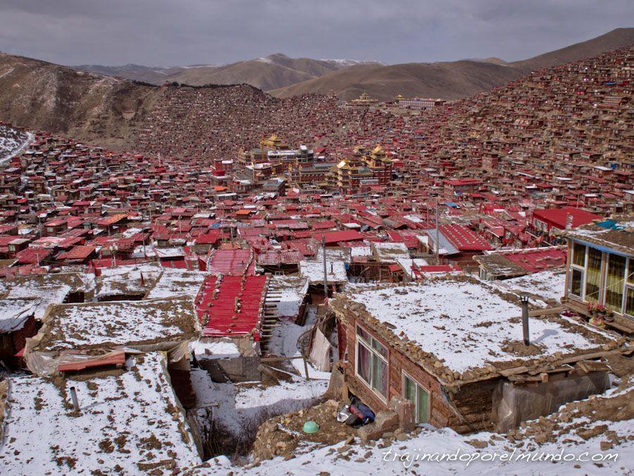 china, que ver en sichuan, larung gar, tibet, budismo,