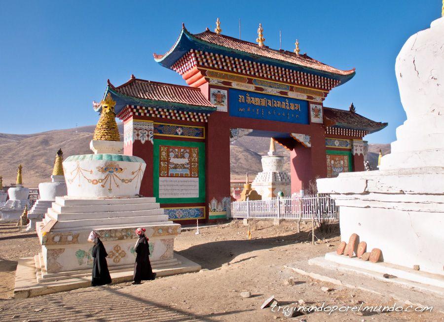 que ver en larung gar, sichuan, china, tibet