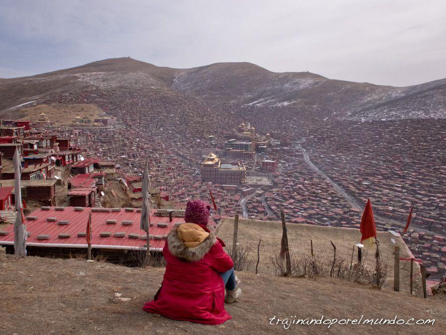larung gar, sichuan, entierro tibetano, china, budismo