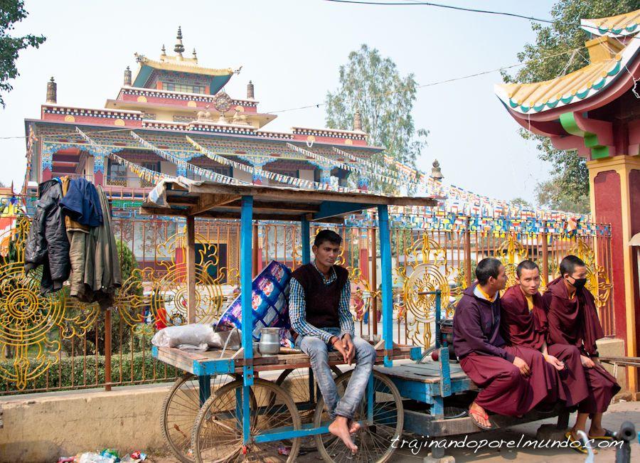 viaje a india, bodhgaya, lugares santos, budismo