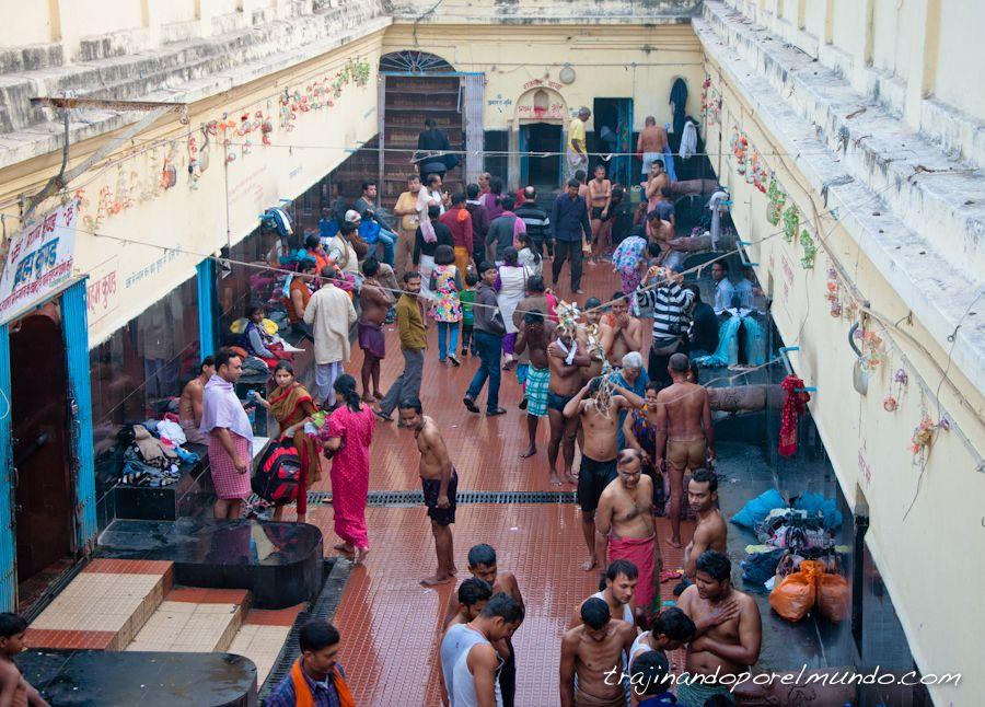 viaje a india, aguas termales, indios, agua caliente