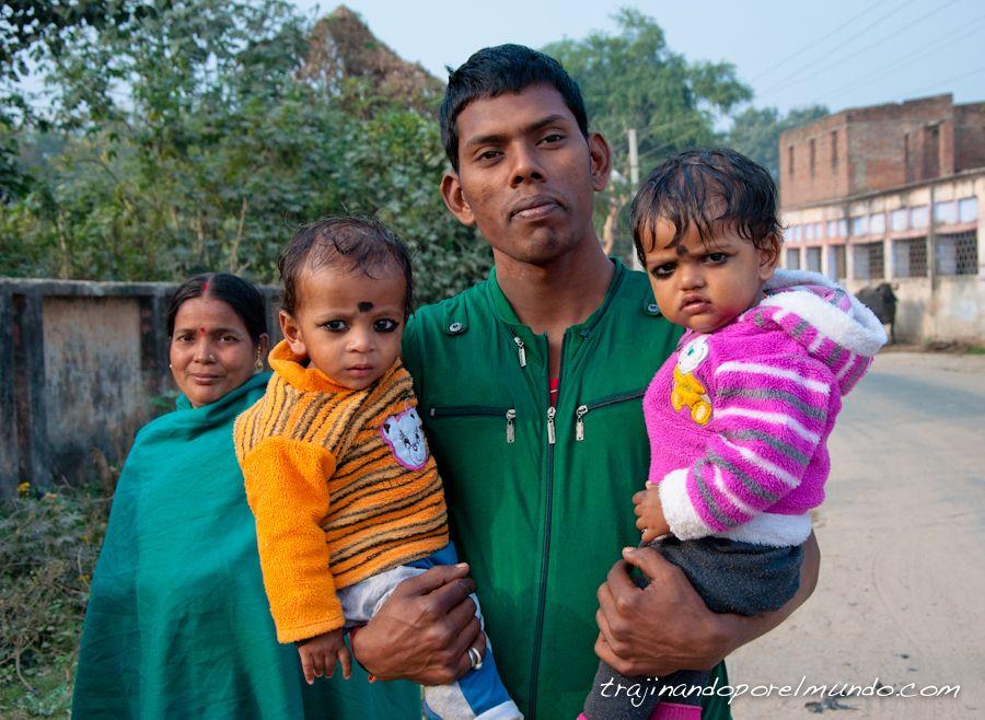 viaje a india, familias, fotografias, amabilidad