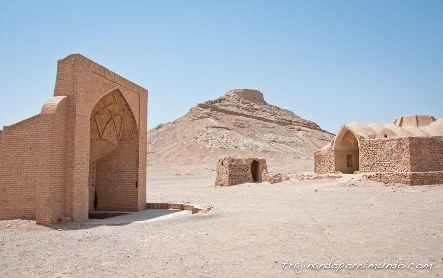 viaje a Iran, ritual funerario, entierro, zoroastro, religion