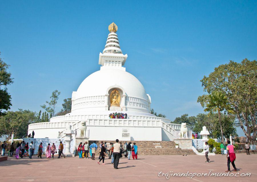 viaje a india, peace pagoda, japon, que ver en bihar