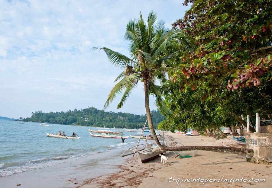 playa, port barton, filipinas, palawan,