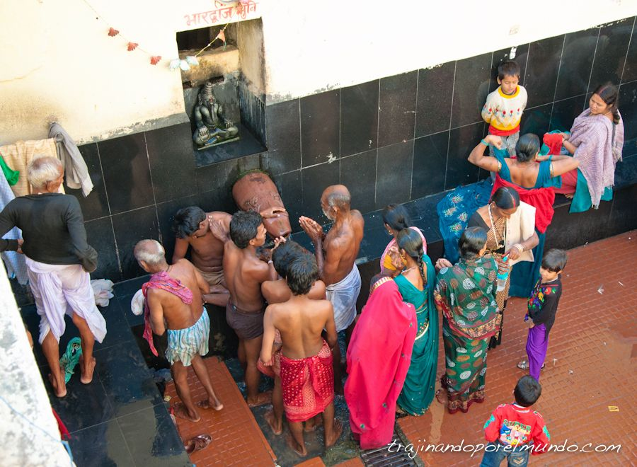 rajgir, hot springs, aguas termales, india, viajar