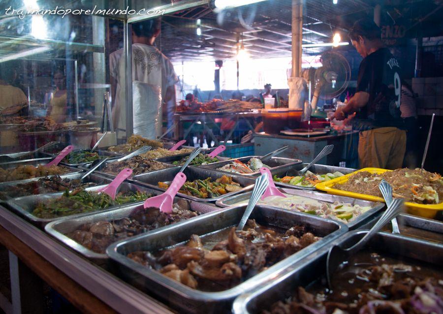 viaje a filipinas, comer barato, que comer, karinderia