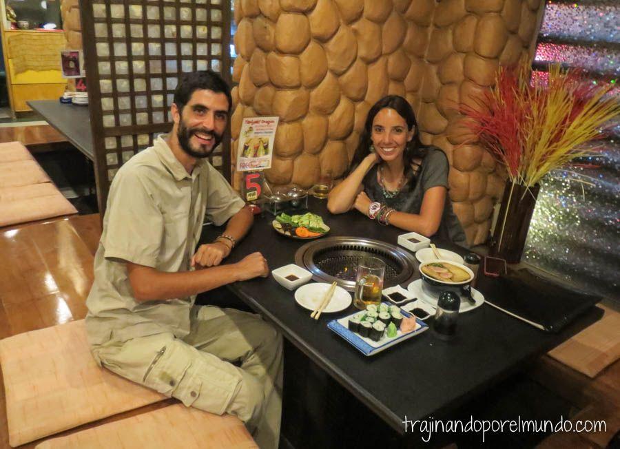 viaje a filipinas, donde cenar, ermita, restaurantes