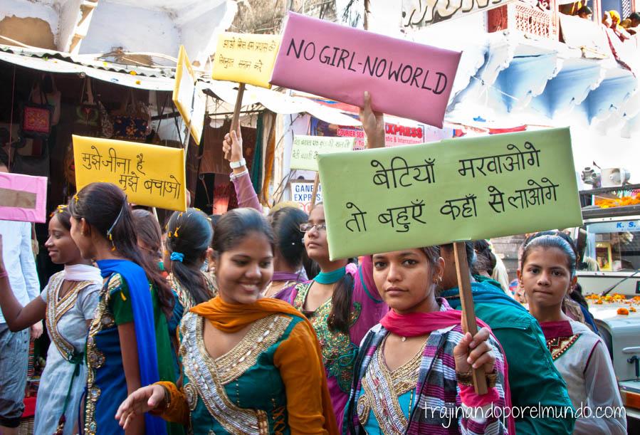 viajar sola a india, peligroso, seguridad, agresiones, mujeres