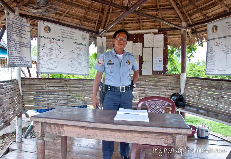 Entrada al penal de Iwahig, Filipinas