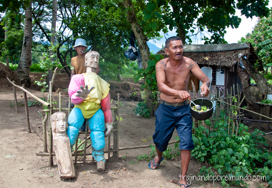 Cocinando en el penal de Iwahig, Filipinas