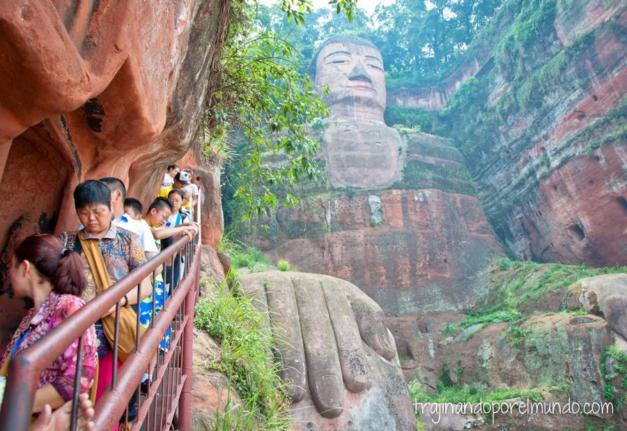 Visita al Buda de Leshan, Sichuan