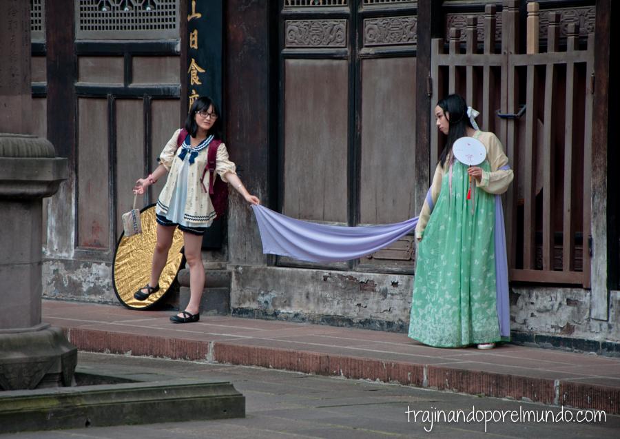 Reportaje fotográfico en Chengdu, China