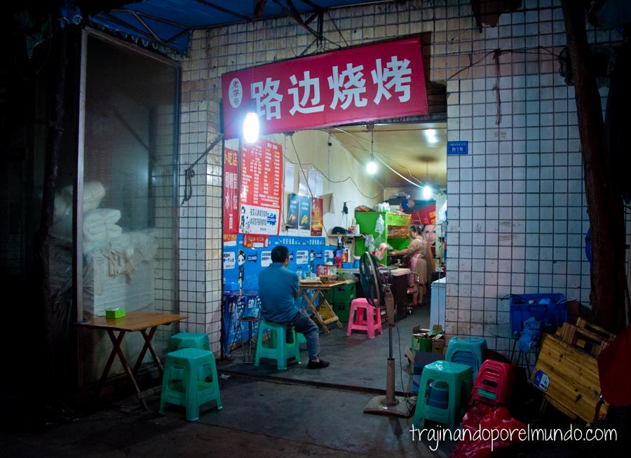 Comida china vegetariana: mi restaurante favorito de Chengdu