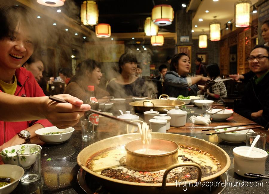 Comida china vegetariana: hot pot, el plato más típico