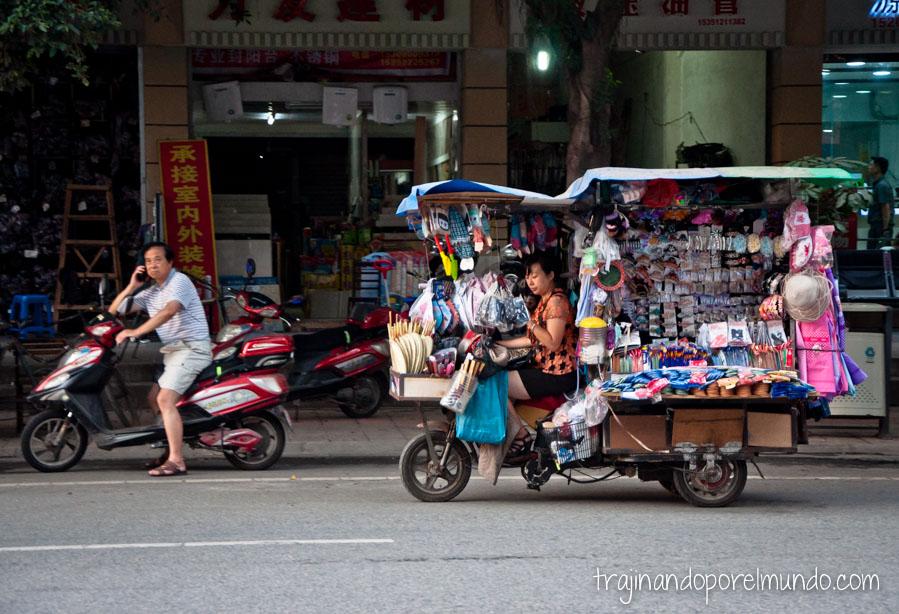 Escenas de china. Chengdu.