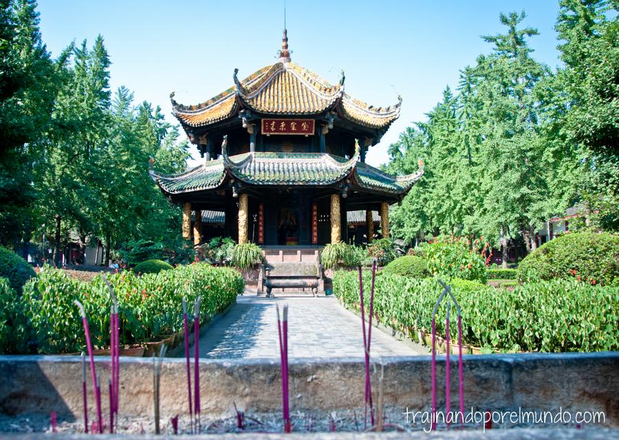 Templo de Chengdu, China