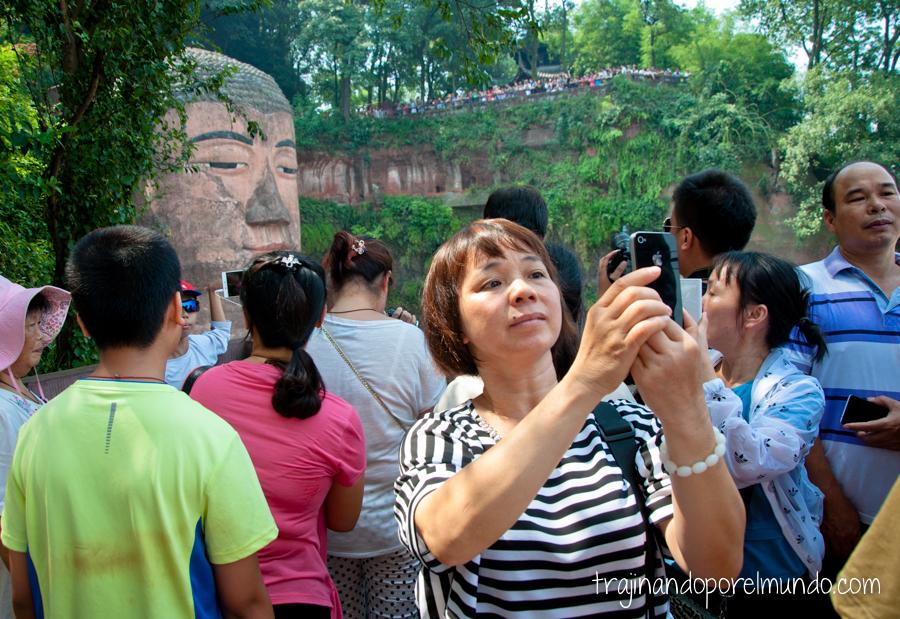 Buda de Leshan, cerca de Chengdu