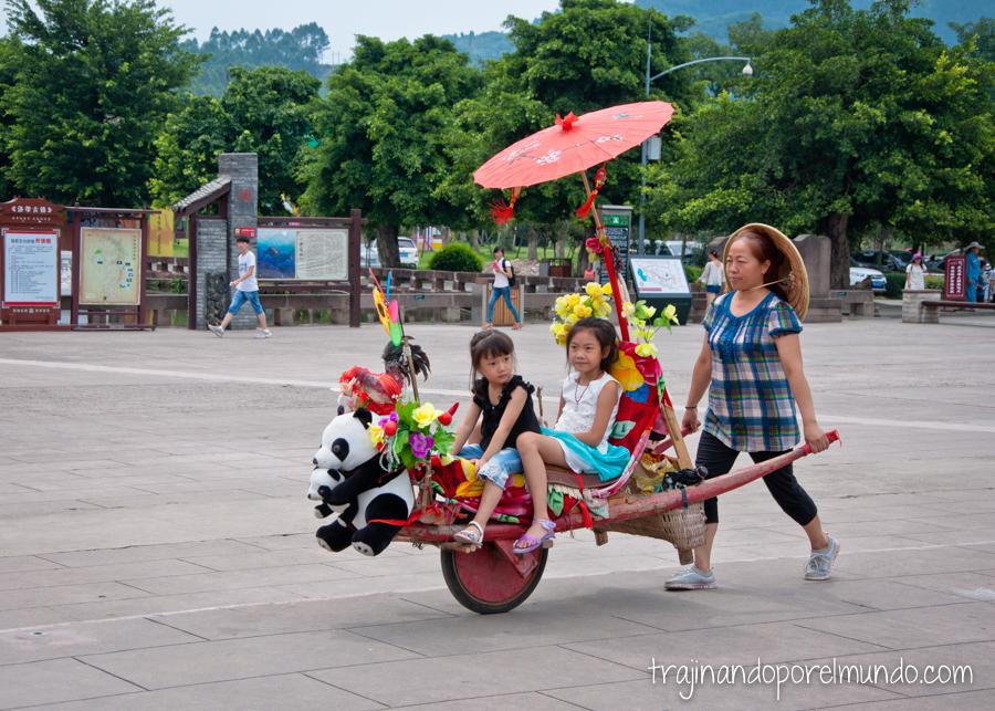 Luodai, cerca de Chengdu, China