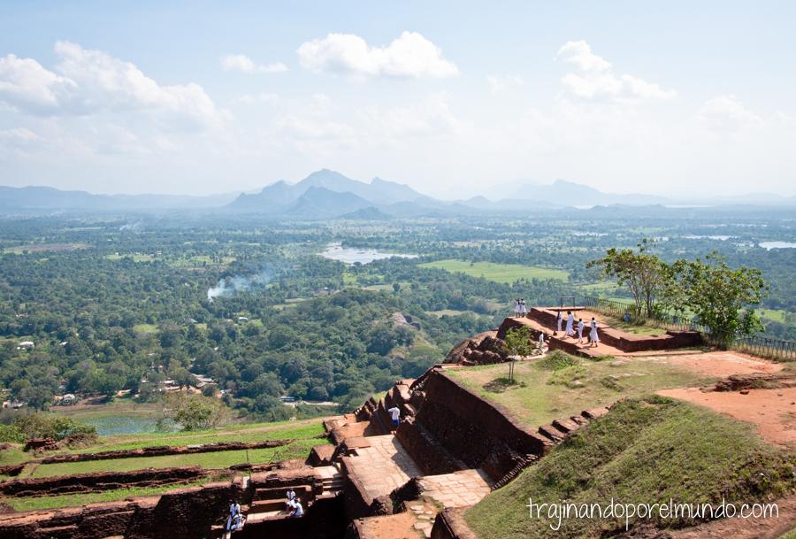 Fortaleza de Sigiriya en Sri Lanka