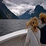 Naturaleza salvaje en el fiordo de Milford Sound