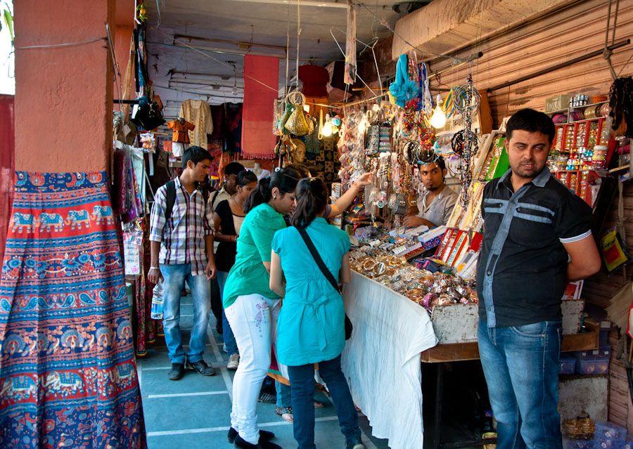 De compras en Jaipur, India