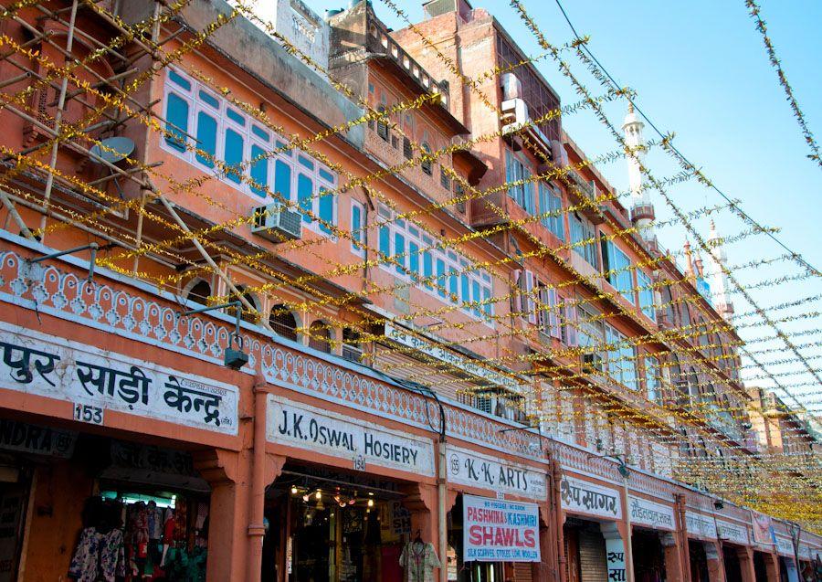 Bazares de Jaipur, India