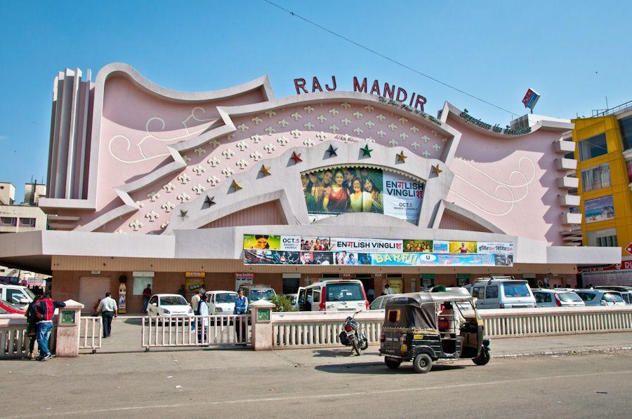 Ver una película de Bollywood en India