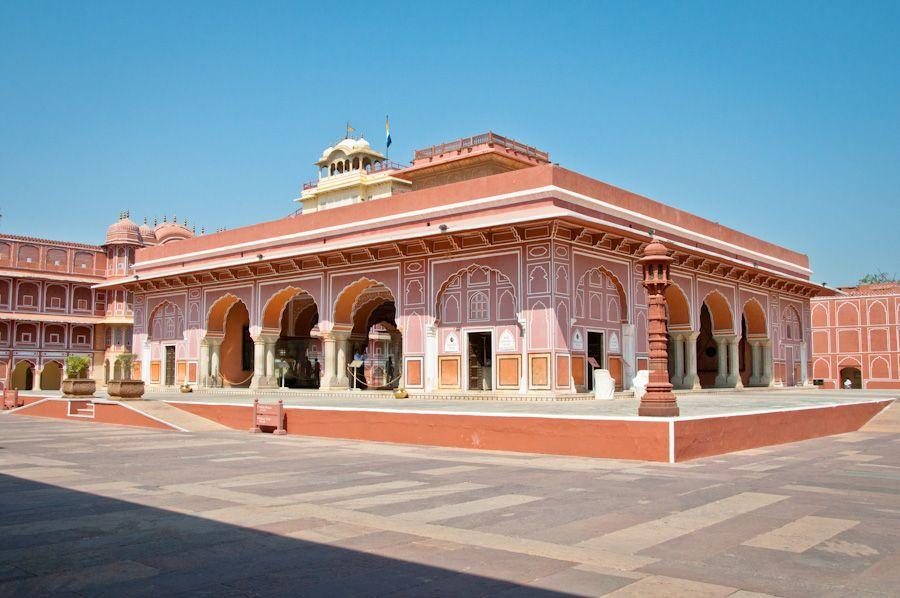 Diwan-i-Khas, Palacio de Jaipur, India