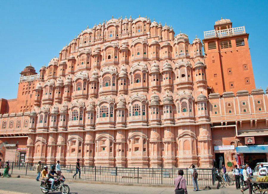 Hawa Mahal o Palacio de los Vientos de Jaipur