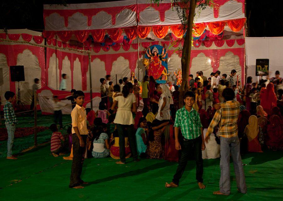 Festival de Navratri en India