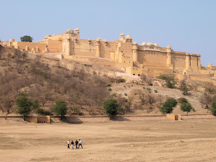 Fuerte Amber, cerca de Jaipur