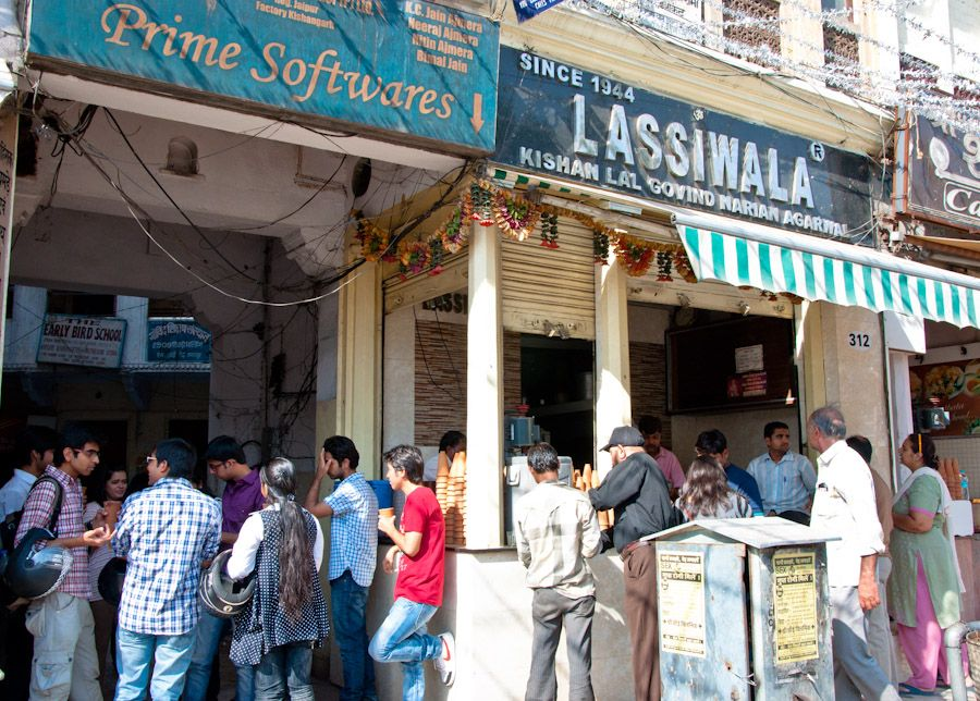Lassiwala, el mejor lassi de Jaipur