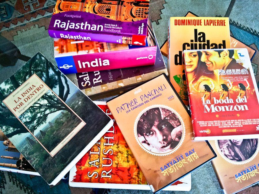 libros sobre la india, peliculas sobre la india, guias, india, viajar