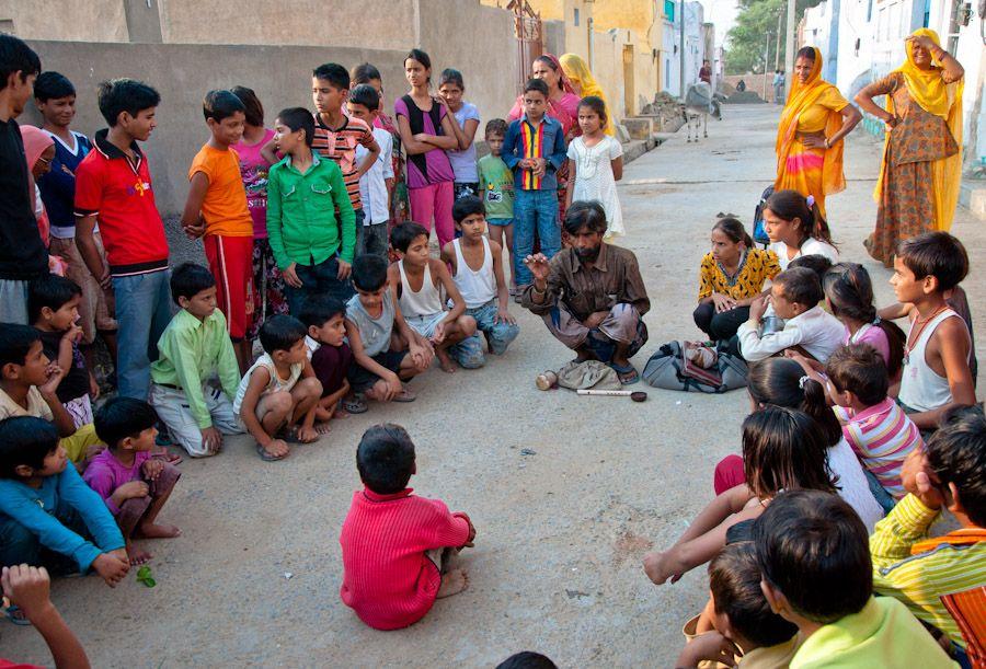Juegos de magia en India, Shekhawati