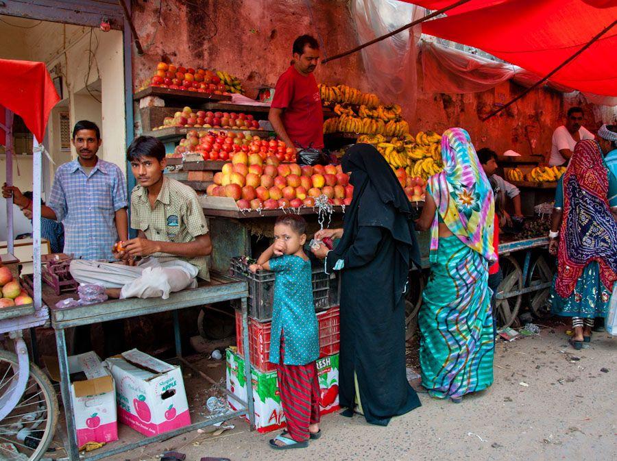 Mercado de Nawalgarh, Shekhawati