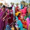 Mujeres de India, Fiesta de Navratri