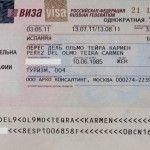 El visado para viajar a Rusia y… ¡cambio de planes!