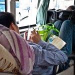 El transporte en China: aviones y autobuses