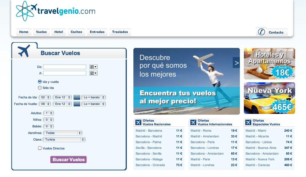 Web TravelGenio