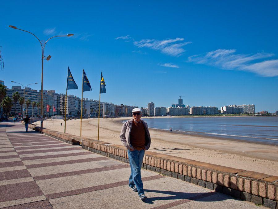 montevideo, mejor playa, pocitos, uruguay