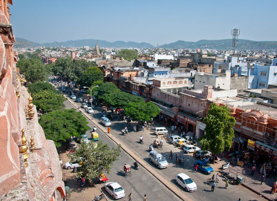 Visita al Hawa Mahal de Jaipur